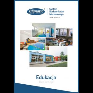 Broszura z realizacjami Climatic - Edukacja