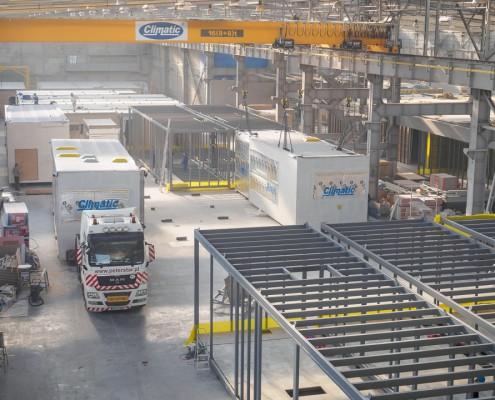 Zakład produkcyjny modułów budowlanych Climatic