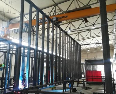Moduły przedszkola w Markach w fabryce Climatic