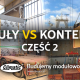 Porównanie modułów i kontenerów budowlanych