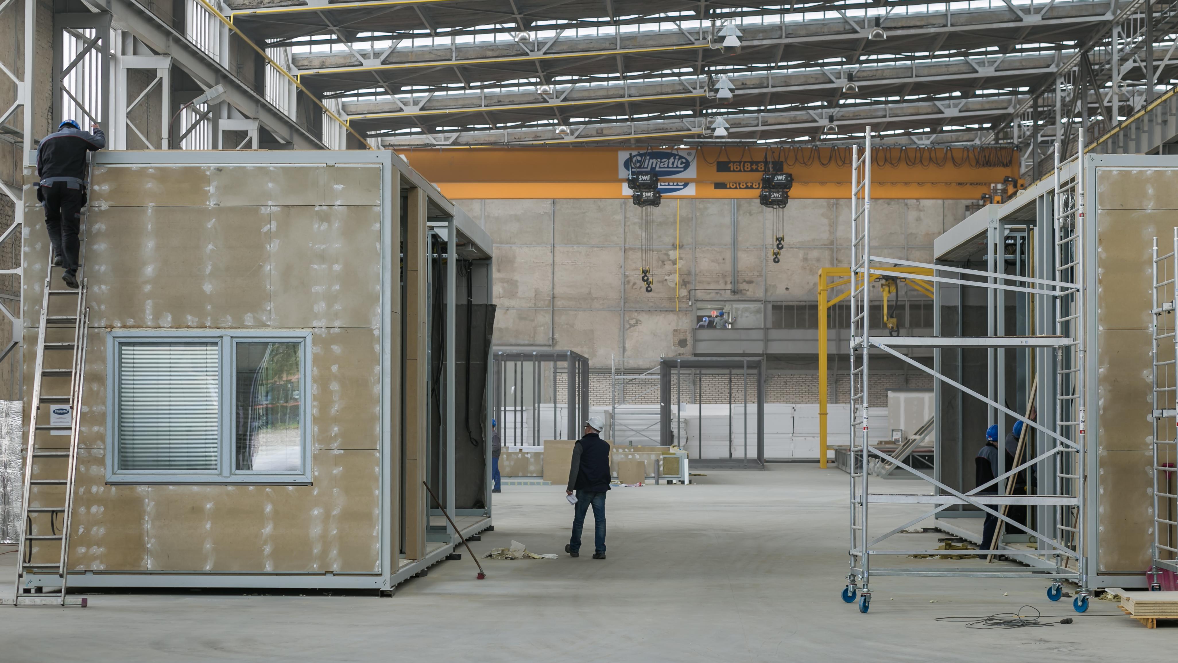 Climatic dostarczy moduły na potrzeby budowy nowego budynku RCKiK w Białymstoku Terenowy Oddział w Hajnówce