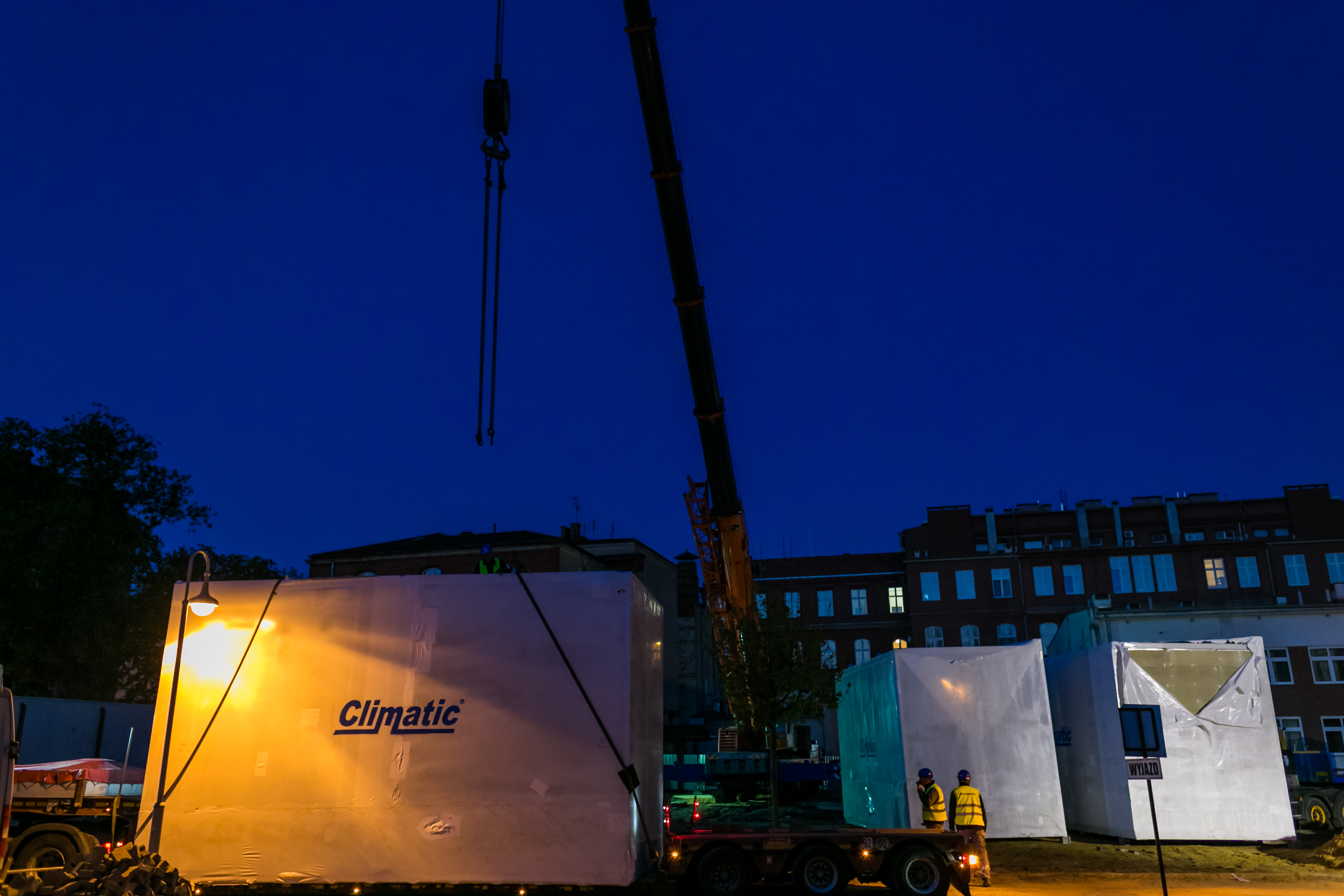 Climatic dostarczył moduły do DCO we Wrocławiu