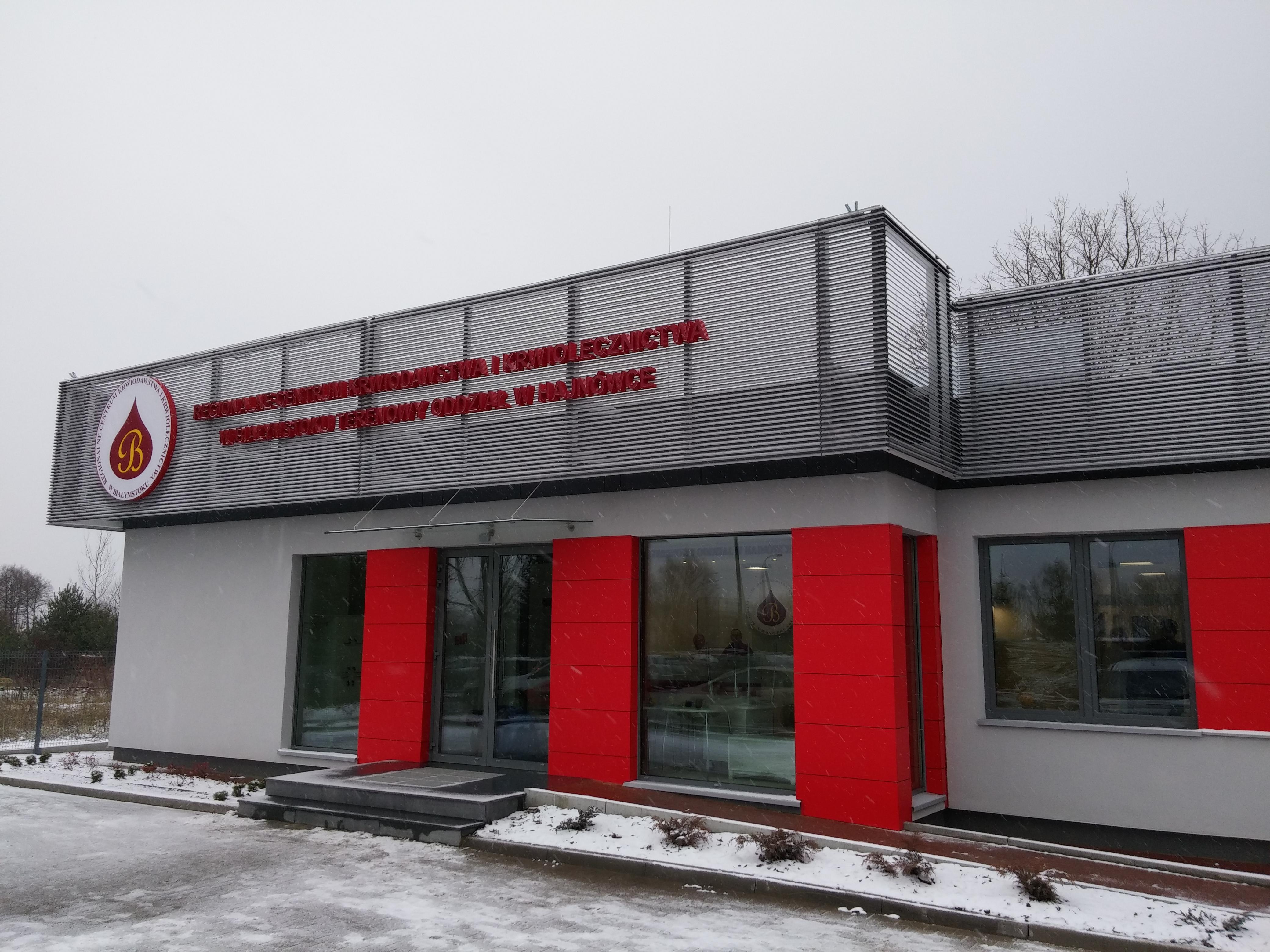 Zakończenie budowy RCKiK w Białymstoku Terenowy Oddział w Hajnówce
