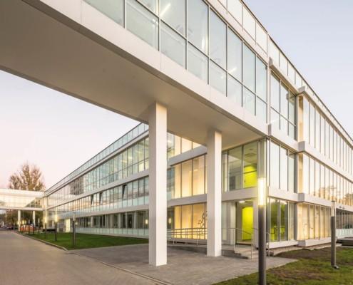 Skrzydło Centrum Zdrowia Dziecka w technologii budownictwa modułowego wykonane przez firmę Climatic