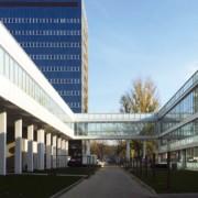 """Modułowy oddział budynku Instytutu """"Pomnik - Centrum Zdrowia Dziecka"""" wybudowany przez Climatic"""