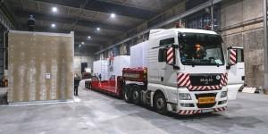 Transport modułów budowlanych