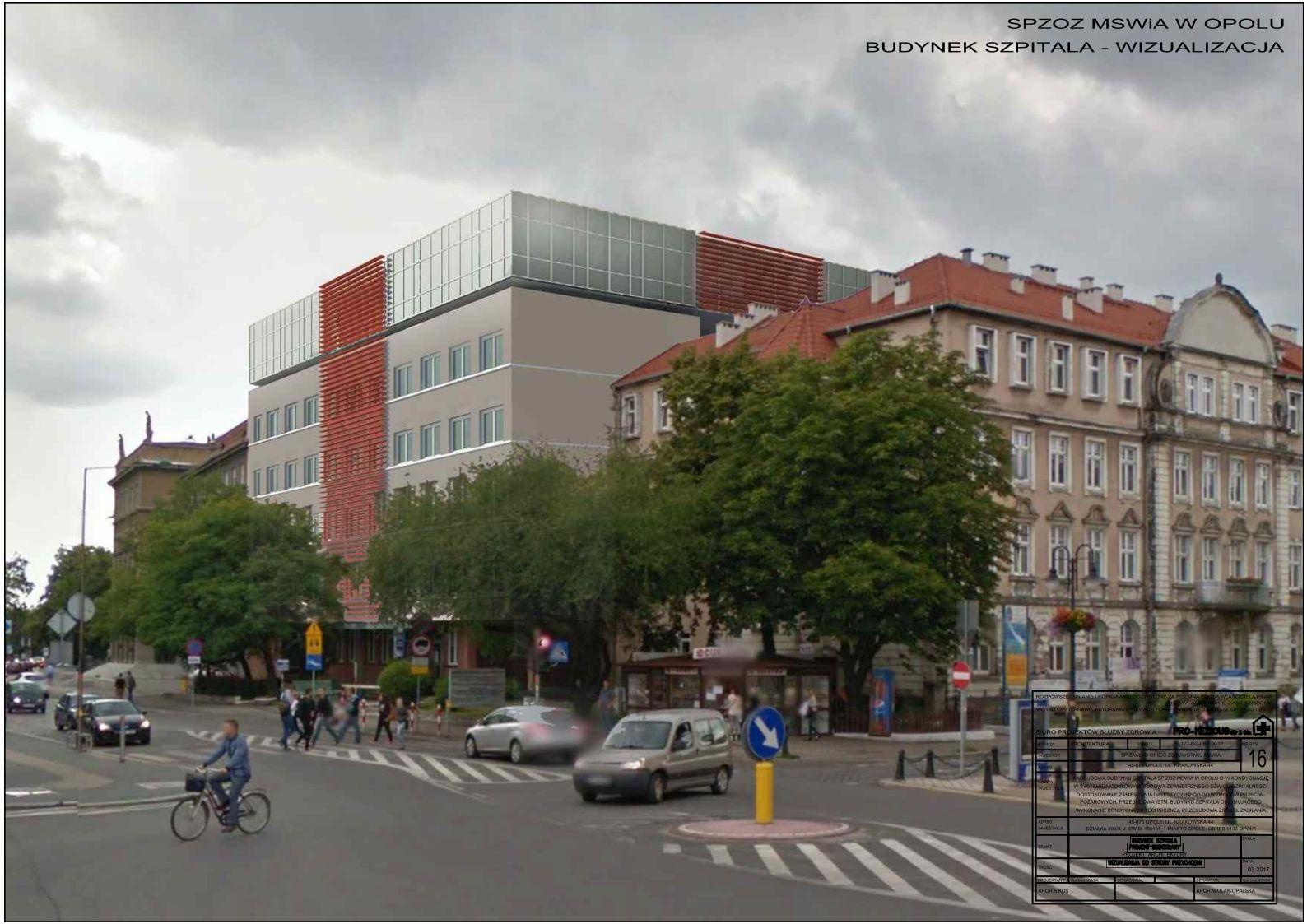 Climatic wykona w systemie budownictwa modułowego nadbudowę szpitala MSWiA w Opolu