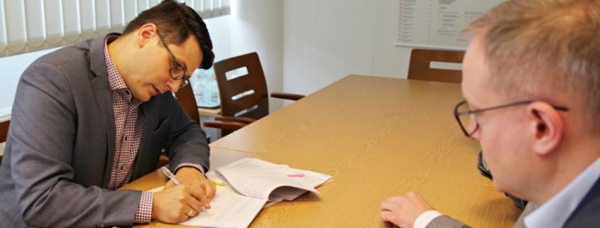 Podpisanie umowy Climatic Bielany