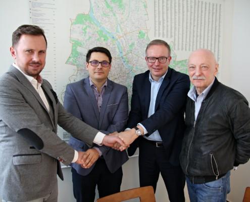 Podpisanie umowy Climatic urząd