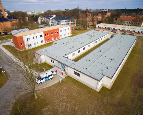 Modułowy obiekt szpitalny Städtisches Klinikum Görlitz