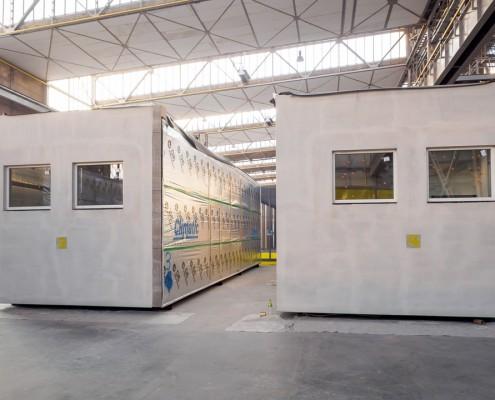 Prefabrykowane moduły budowlane gotowe do transportu Climatic