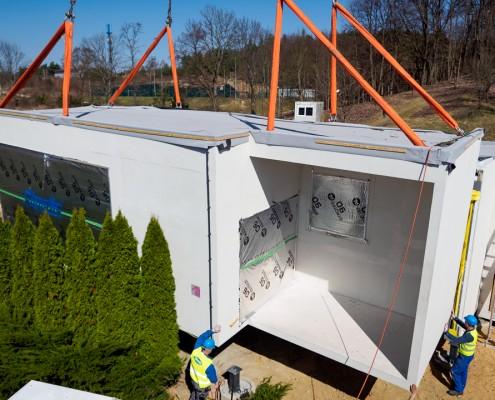 Prefabrykowane budownictwo modułowe Climatic