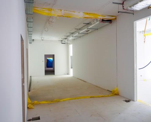 Wnętrze modułu budowlanego Climatic