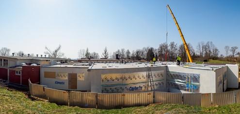 Budowa przedszkola modułowego w Mielniku Climatic