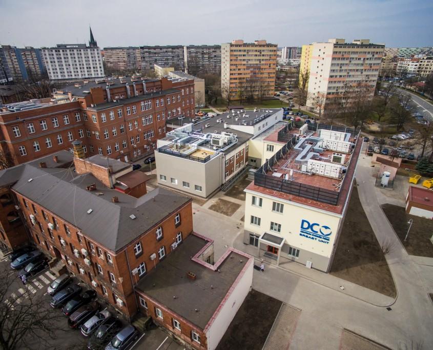 Szpital modułowy DCO we Wrocławiu