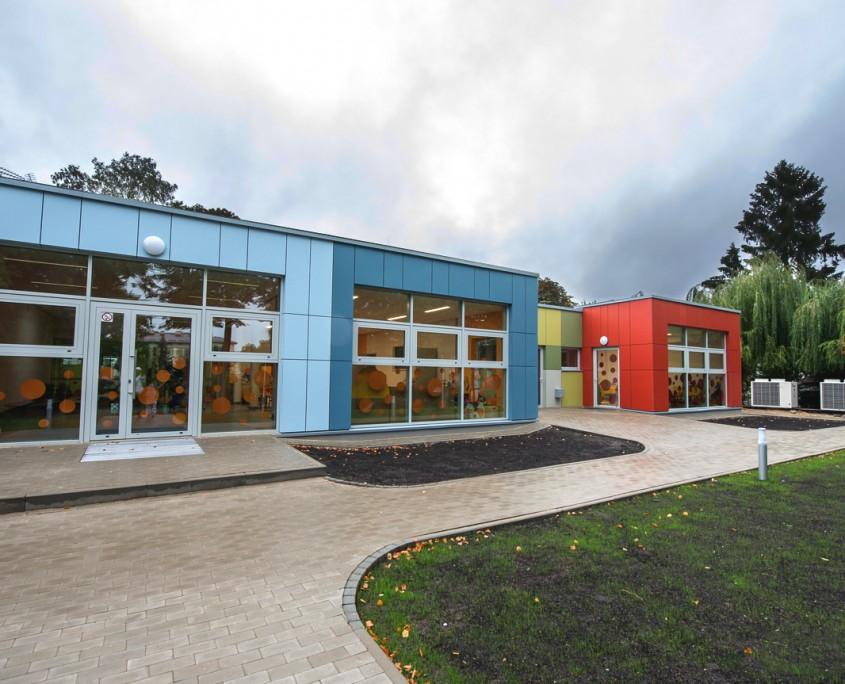 Przedszkole modułowe wybudowane przez firmę Climatic w Mińsku Mazowieckim