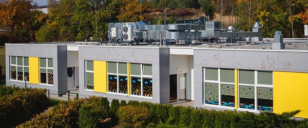 Szkoły i przedszkola modułowe