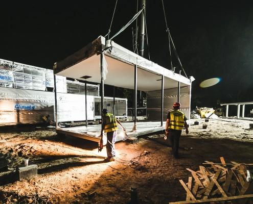Budownictwo modułowe zastosowane przy budowie przedszkola
