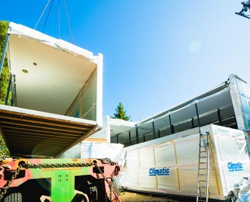 Przedszkole wykonane w technologii budownictwa modułowego Climatic