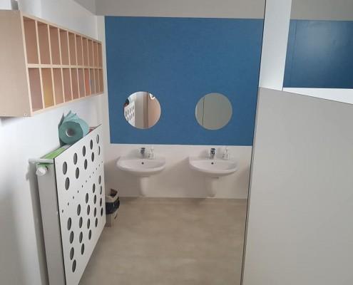 Łazienka przedszkolna