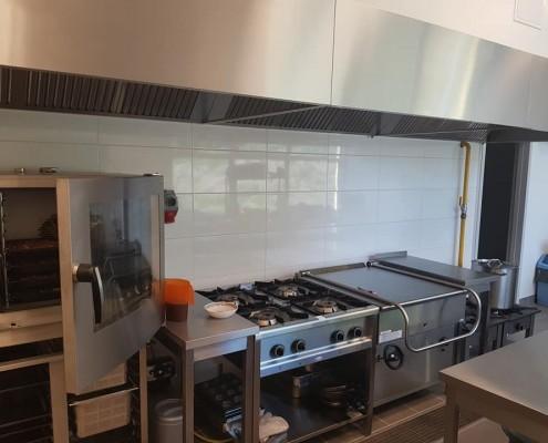 Kuchnia przedszkola modułowego