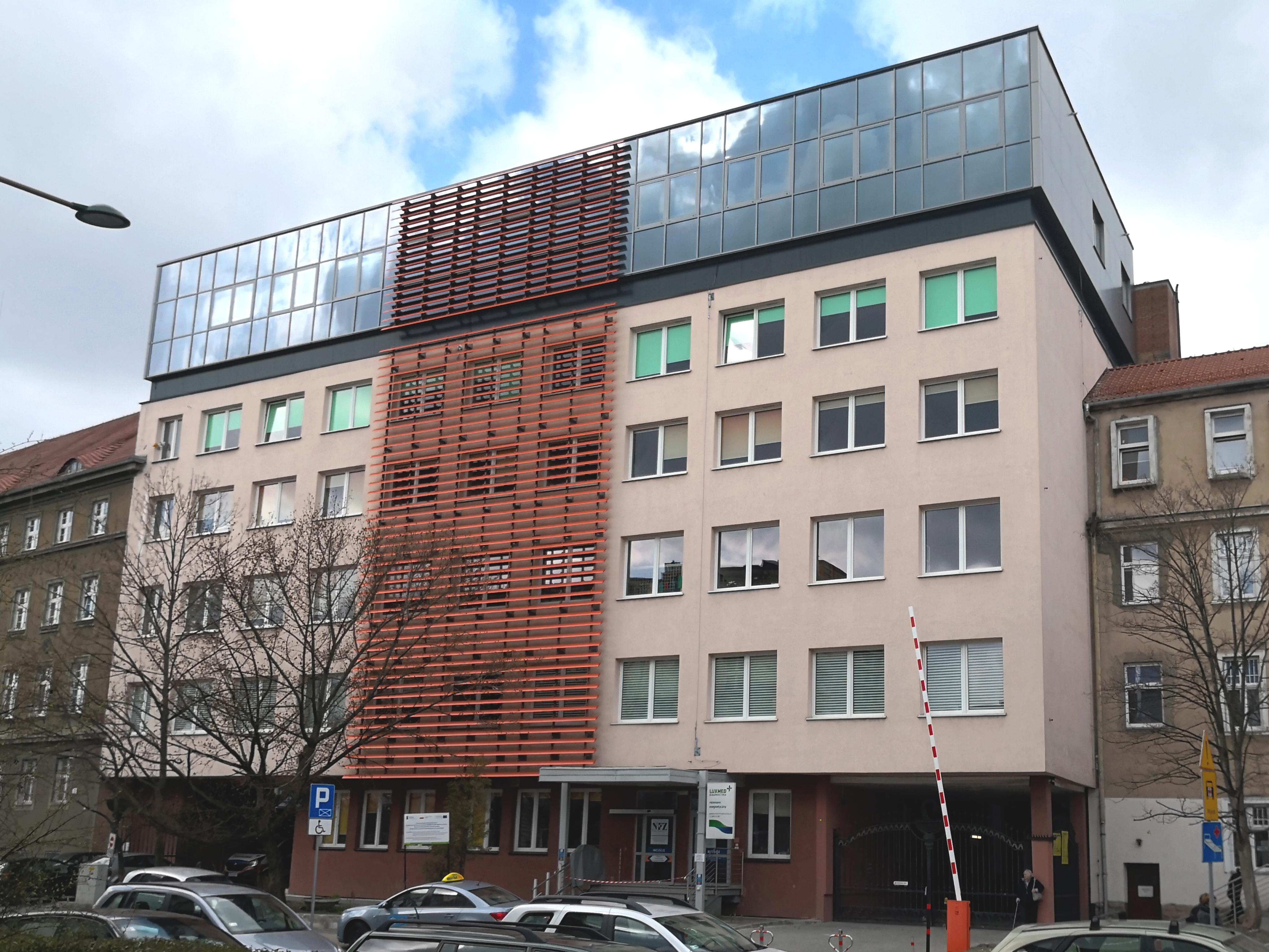 Zrealizowana nadbudowa szpitala MSWiA w Opolu