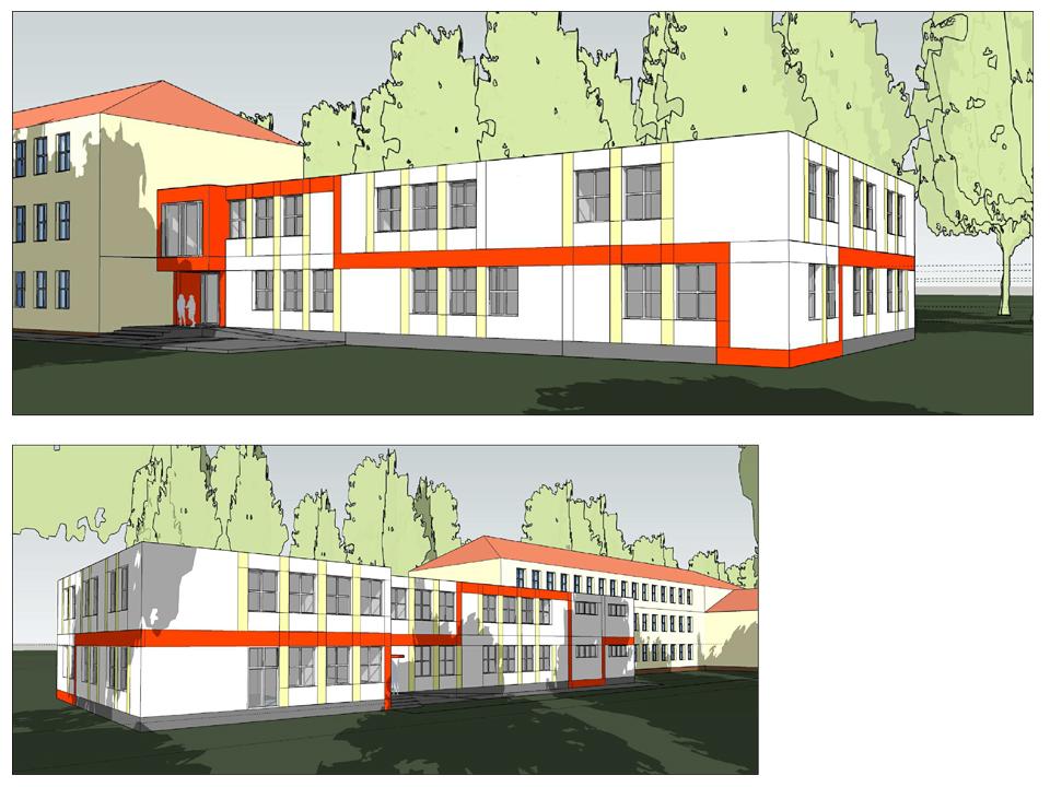 Kolejna modułowa rozbudowa szkoły w Warszawie.