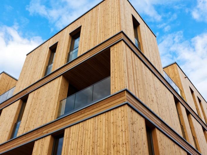 budynek z drewna